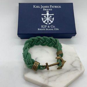 Kiel James Patrick Mariner and Cape Poge Bay Rope Bracelet, Small
